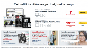 screenshot abonnement lemonde