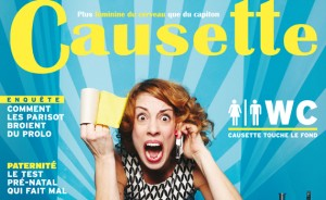 Couverture magazine féminin Causette, aux antipodes des magzines féminins traditionnels